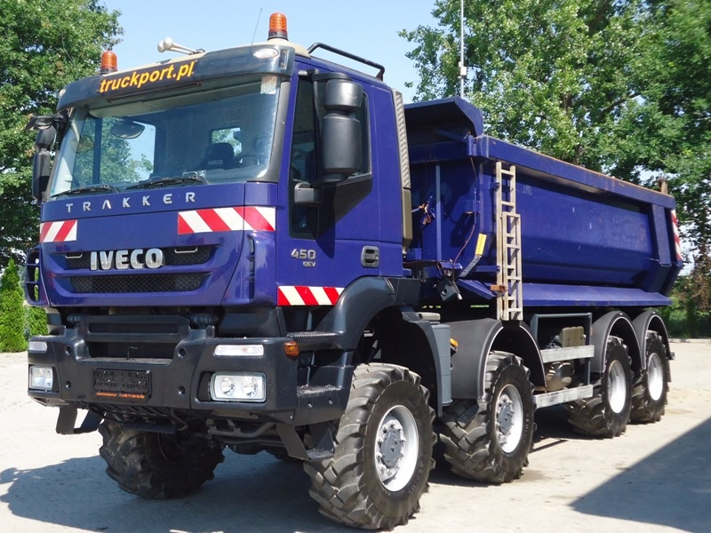 IVECO MAGIRUS AD410 T45W 8x8 EEV WYWROTKA