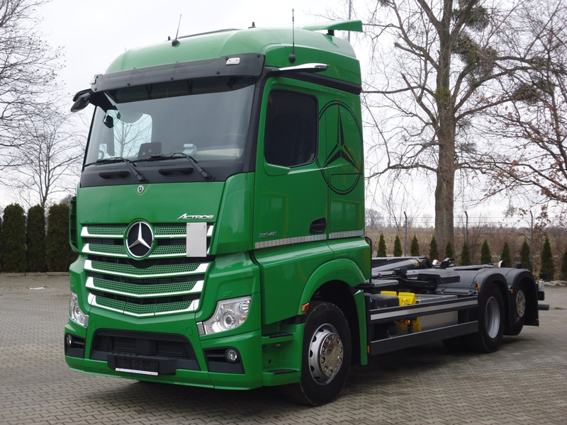 MB ACTROS 2546 6x2 EURO6 HAKOWIEC MEILLER 21T