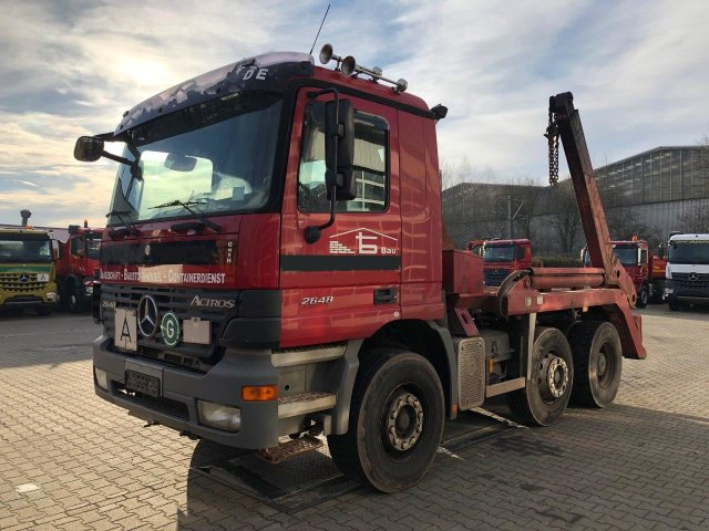 MB ACTROS 2648 V8 6x2 EURO3 BRAMOWIEC ATLAS