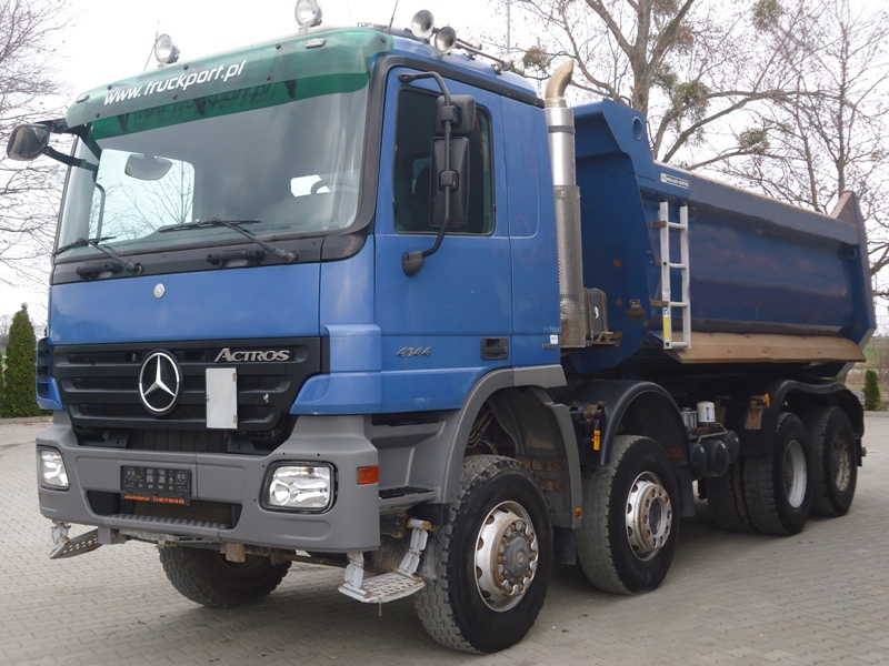 MB ACTROS 4144 8x6 EURO4 TIPPER