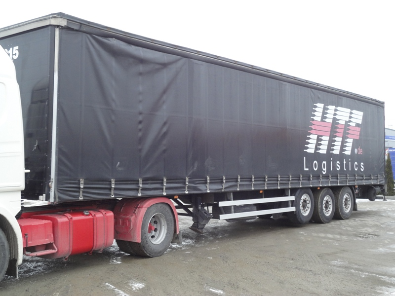 SOMMER SP 24-113-S-C-U SEMI-TRAILER WITH FORKLIFT